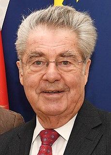 Heinz Fischer eleventh President of Austria