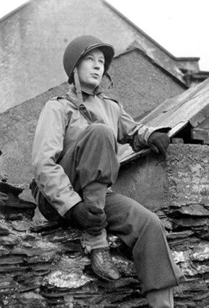 Helen Kirkpatrick - Helen Kirkpatrick photographed in February 1944