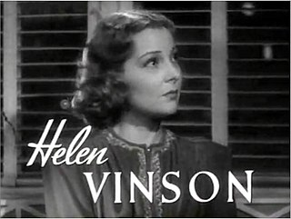 Helen Vinson actress