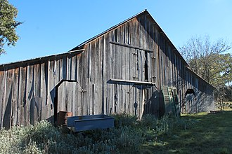 Boerne, Texas - A barn on the Herff–Rozelle Farm in Boerne