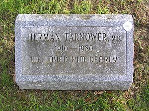 Herman Tarnower - Gravesite of Herman Tarnower