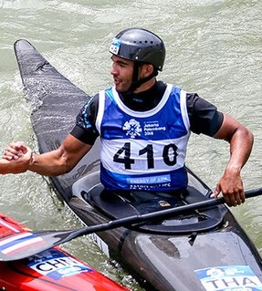 Hermann Husslein Canoe slalom racer