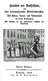 "Titelblatt zu""Herodes vor Bethlehem"" (Quelle: Wikimedia)"