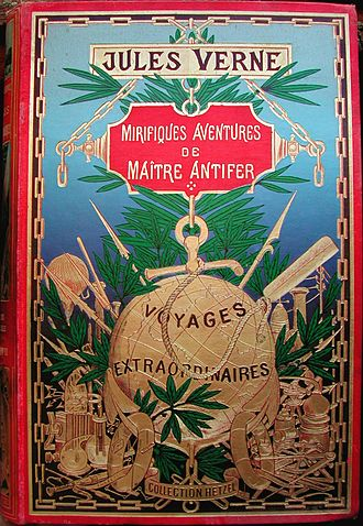 Captain Antifer - Cover of French edition