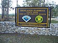 Highland Hammocks SP sign01.jpg