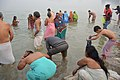 Hindu Devotees Taking Holy Dip In Ganga - Makar Sankranti Observance - Kolkata 2018-01-14 6797.JPG