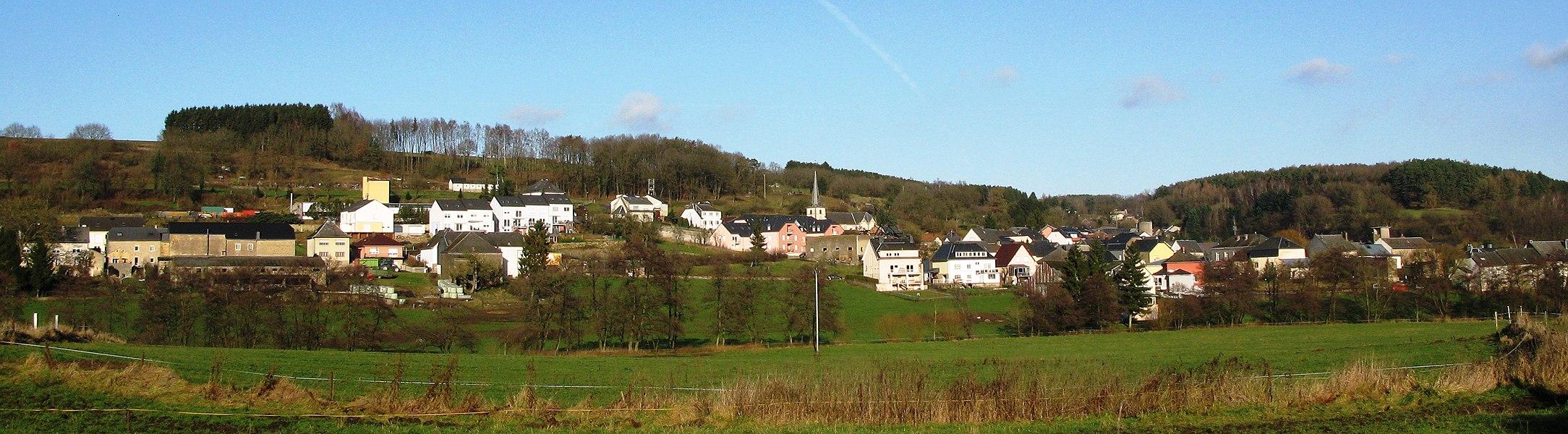 Le village luxembourgeois de Hobscheid