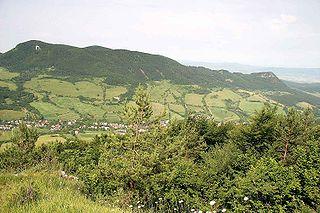 Horná Poruba Village in Slovakia