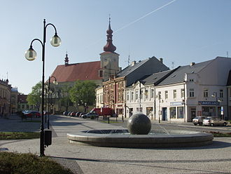Holešov - Dr. Edvard Beneš Square