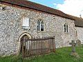 Holy Trinity Church Nuffield, Oxon, England - nave south wall.jpg