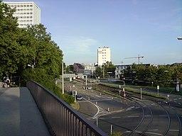 Honsellstraße in Karlsruhe
