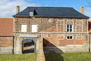 Hougoumont farmhouse in Belgium