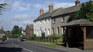 Aballava - Image: Houses at Burgh by Sands geograph.org.uk 1945694