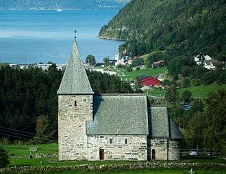 Peter Andreas Blix - Hove Church at Vikøyri