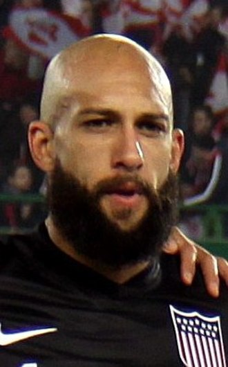 Tim Howard - Howard playing for the United States in 2013