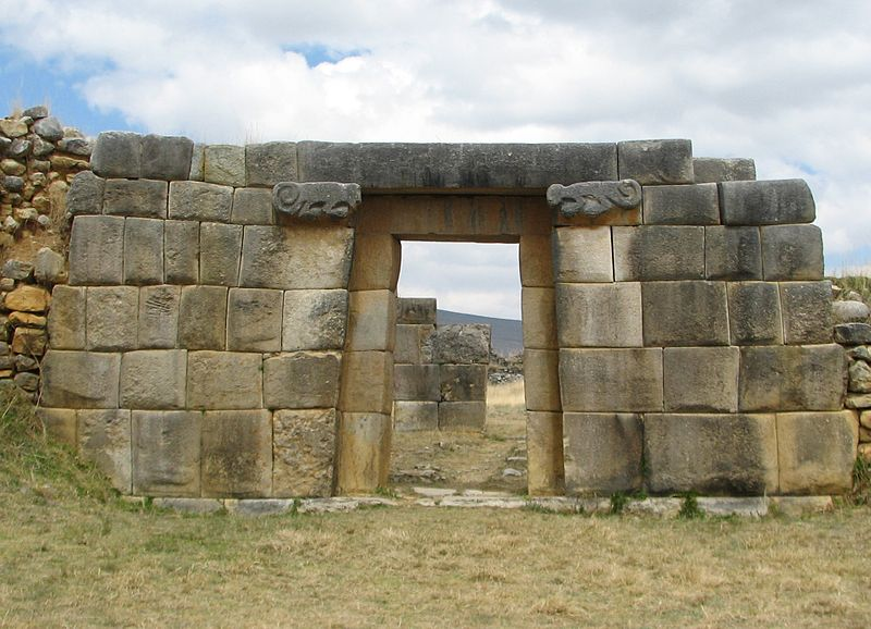 Податотека:Huánuco Pampa Archaeological site - doorway.jpg
