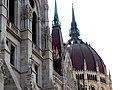 Hungarian Parliament, Danube side detail, 2013 Budapest (389) (13227755554).jpg