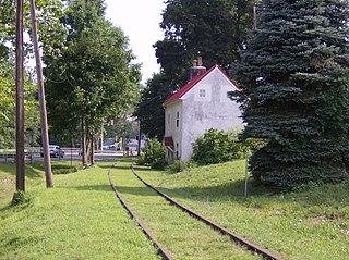 Huntingdon Valley station defunct SEPTA train station