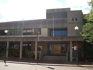 Hurstville City Council - Hurstville Civic Centre in MacMahon Street, Hurstville, was the seat of the council until 2016.