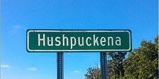 Hushpuckena, Mississippi Unincorporated community in Mississippi, United States