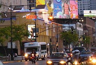 Hustler - Larry Flynt Hustler Club on West 52nd Street in New York