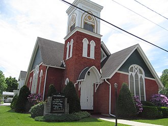 Hyndman, Pennsylvania - First United Church of Christ in Hyndman