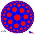 Hyperbolic tiling truncated 3-7.png