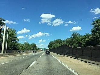 Interstate 78 - I-78 near Lehigh Street exit