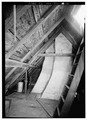 INTERIOR, ATTIC, LOOKING SOUTH - Narbonne House, 71 Essex Street, Salem, Essex County, MA HABS MASS,5-SAL,51-13.tif