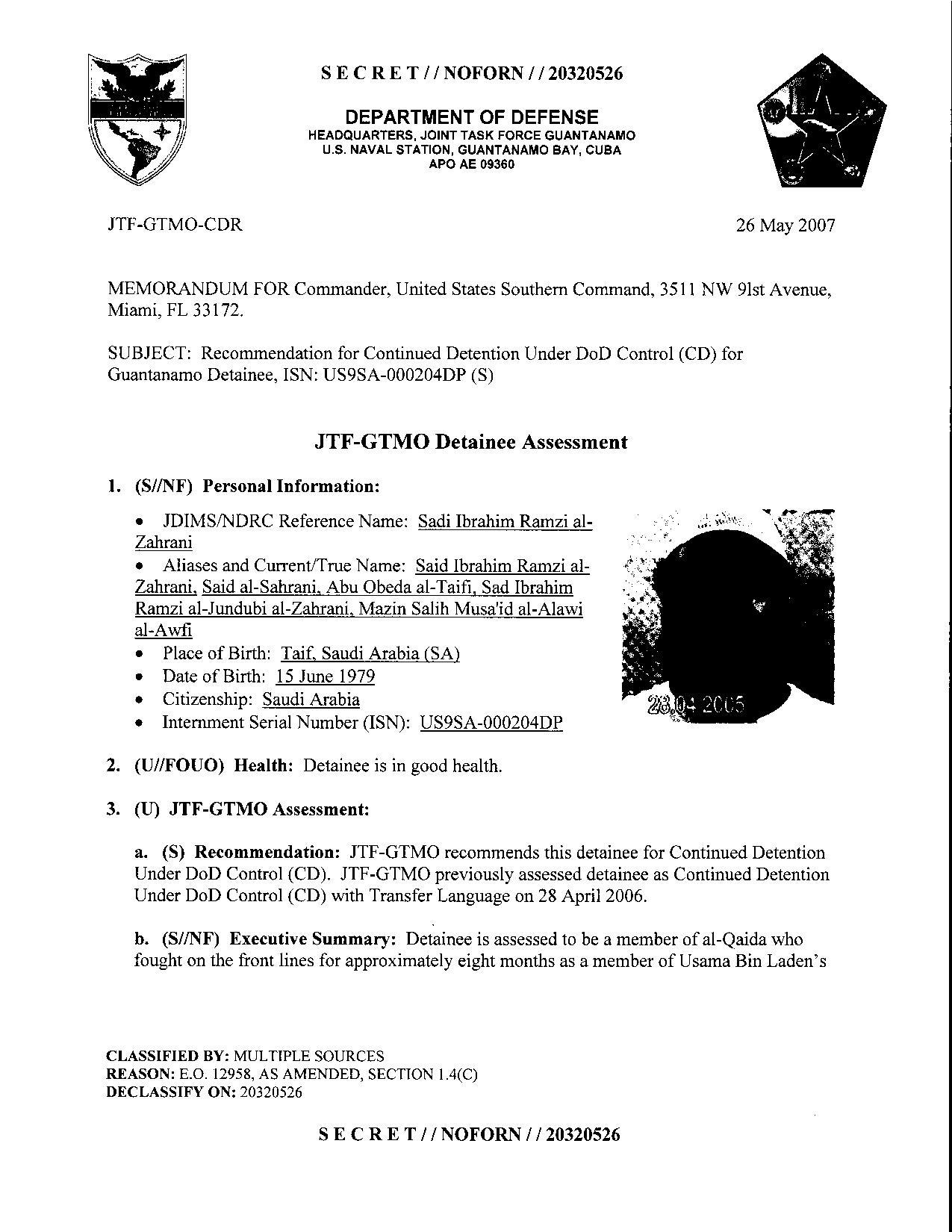 ISN 204's Guantanamo detainee assessment.pdf