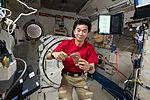 ISS-44 Kimiya Yui in the Kibo module.jpg