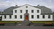 Stjórnarráðið, the seat of the executive branch of Iceland's government.