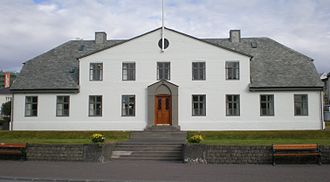 Cabinet of Iceland - The Cabinet of Iceland and the Prime Minister's Office in Reykjavík.