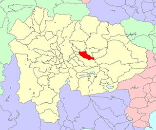 Ichinomiya, Yamanashi dissolved municipality in Higashiyatsushiro district, Yamanashi prefecture, Japan (1954-2004)