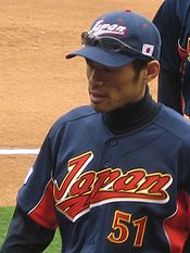 Ichiro Suzuki at World Baseball Classic, March 2006
