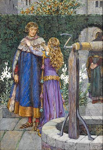 Elaine of Astolat - Image: Idylls of the King (1913) 13 Elaine