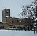 Iglesia de Garinoain nevada, Febrero de 2018.jpg