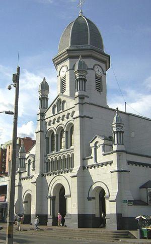Agustín Goovaerts - Image: Iglesia de Nuestra Señora de los Dolores Fachada Medellin