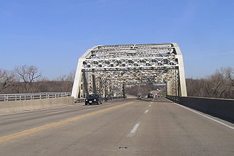 Illinois Route 83 - Illinois Route 83 bridge over the Ship and Sanitary Canal