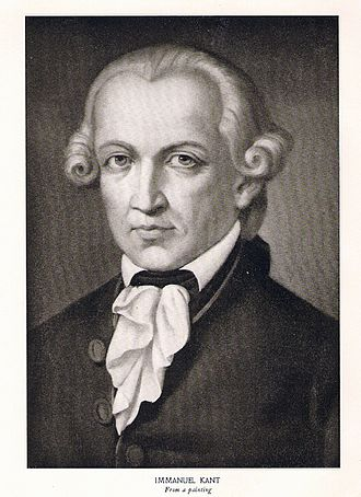 Immanuel Kant - An image of Immanuel Kant.