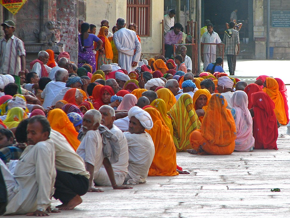 India - Madurai - 021-2 - Rajasthani pilgrims (1825820390)