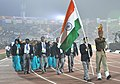 Indian players taking part in the ceremonial march pass, on the occasion of the 12th South Asian Games-2016, at Indira Gandhi Athletics Stadium, in Guwahati, Assam on February 05, 2016 (1).jpg
