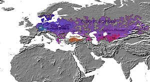 Indo-European migrations - 2000 BCE