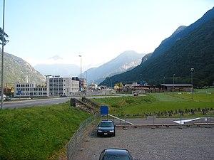 Evionnaz - Industrial zone of Evionnaz