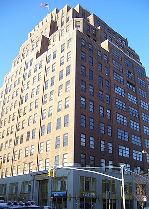 111 Eighth Avenue - Eighth Avenue facade of 111 Eighth Avenue (2011)