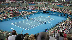 Inside of Pat Rafter Arena.JPG