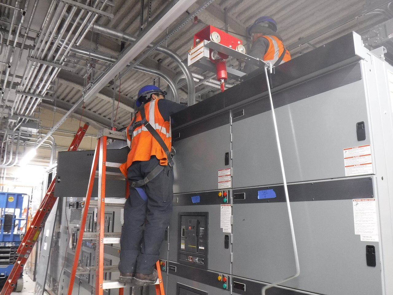 Fileinstallation Of 1 Conduit For The Control Wires Electrical Wiring Switchgear Cabinet Located In B13 Substation Cs179 08 18 24783380897