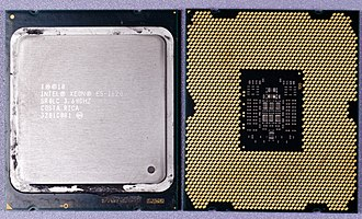 Xeon - Xeon E5-1620, front and back