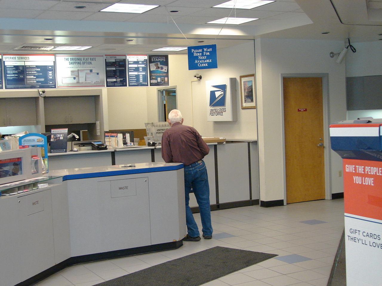 File:Interior of Spanish Fork City Post Office, Utah 02 JPG