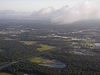Interstate 75 in Pasco, Florida from hot air balloon.jpg